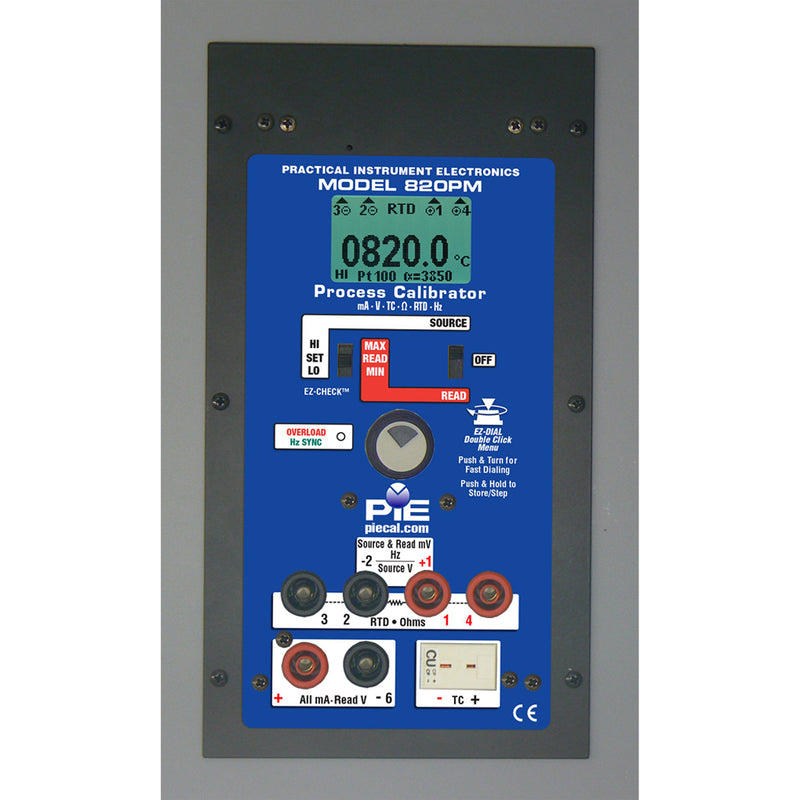 PIE 820PM Multi-function Panel Mount Calibrator