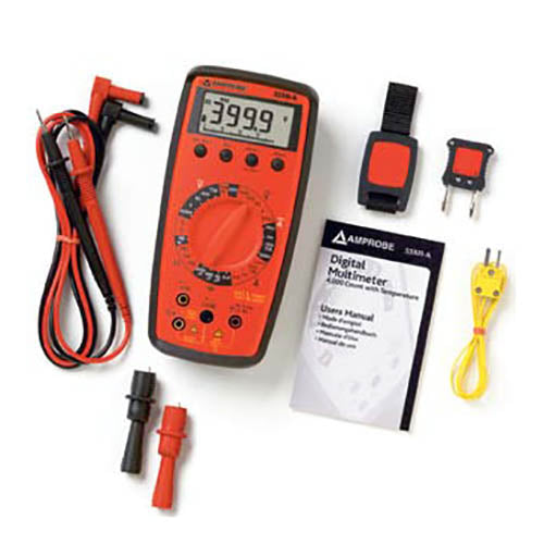 Amprobe 33-XR-A Digital Multimeter with Temperature