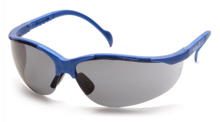Gray Lenses with Metallic Blue Frame