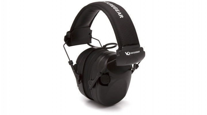 Venture Gear Electronic Earmuff with Headband - Black