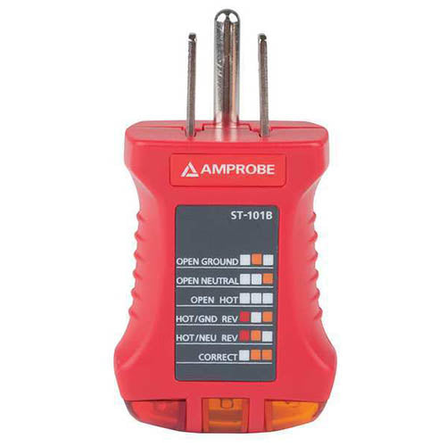 Amprobe ST-101B Receptacle Tester