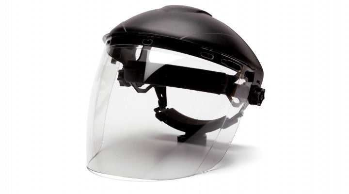 Clear PC Tapered Faceshield Visor