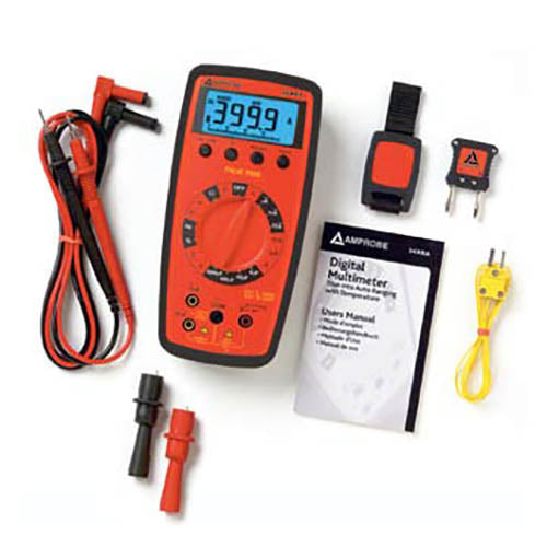 Amprobe 34-XR-A True-RMS Digital Multimeter with Temperature