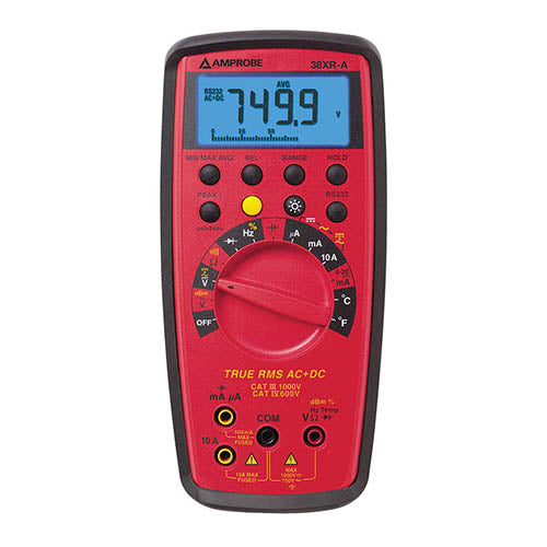 Amprobe 38-XR-A True-rms Digital Multimeter with Temperature