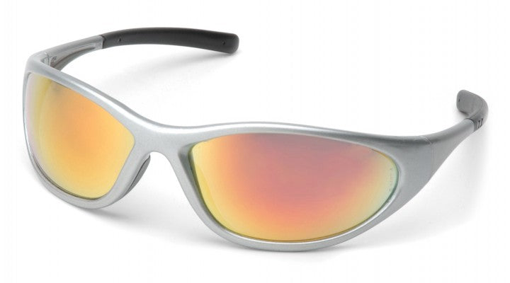 Ice Orange Lenses with Silver Frame
