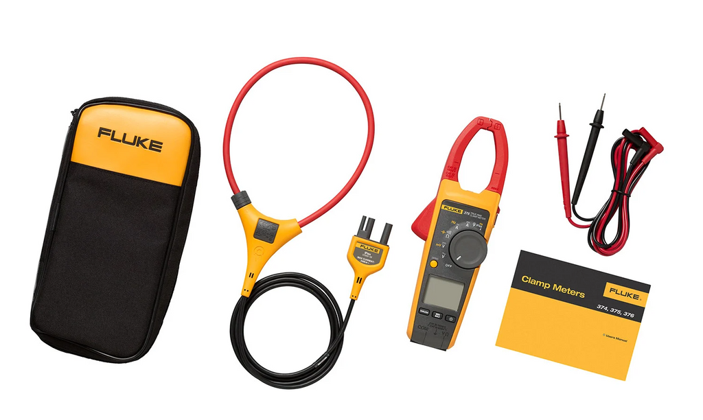 Fluke 376 True-RMS Wireless Clamp Meter with iFlex