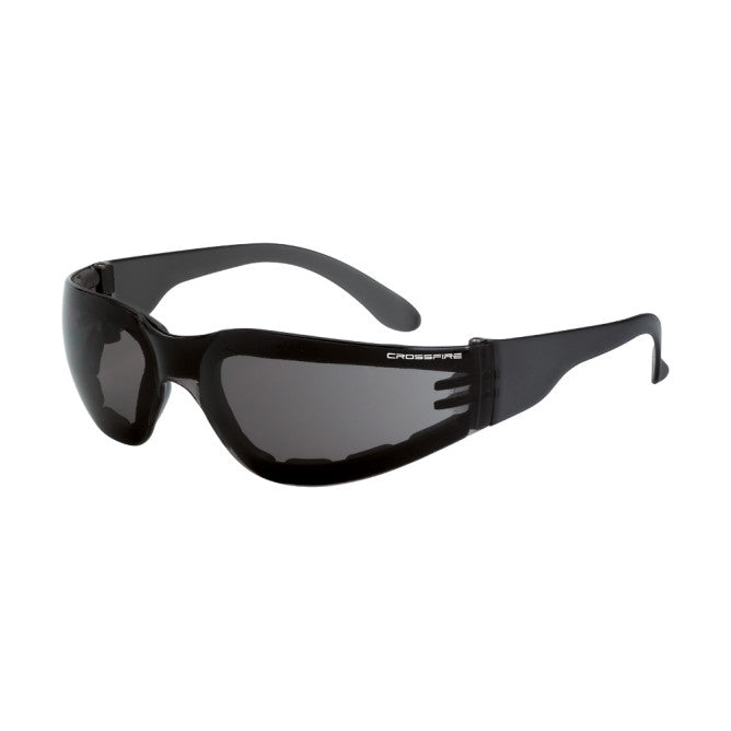 Radians Crossfire Shield Foam Lined Safety Glasses