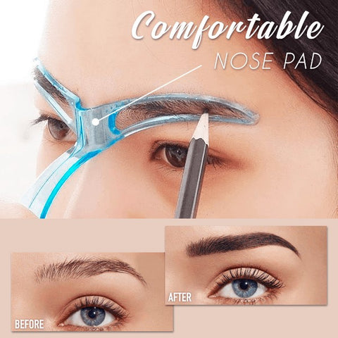 eyebrow shaper stencil