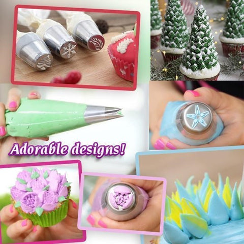 cake decorating piping