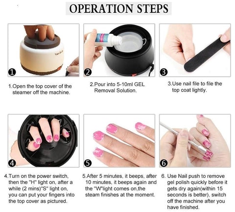 how to get gel nail polish off