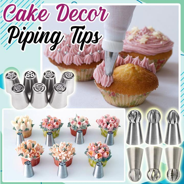 Cake Decor Piping Tips Aura Life Shop