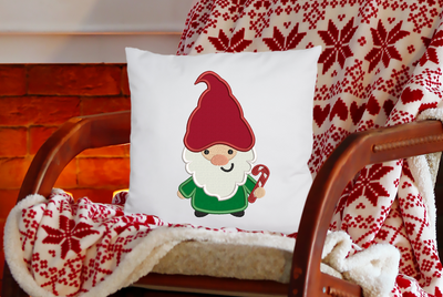 Christmas - candy cane gnome applique 4 sizes