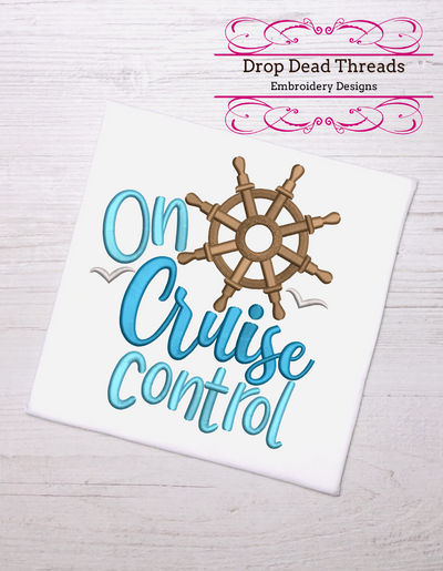 Vacation holiday - on cruise control- 3 sizes