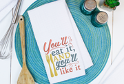 Home lettering - you'll eat it and you'll like it 3 sizes