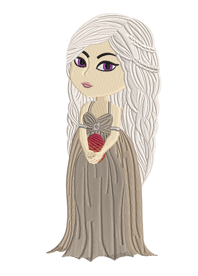 Daenerys Targaryen filled game of thrones inspired