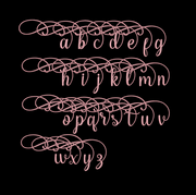 sweetheart machine embroidery font design file four sizes inc bx