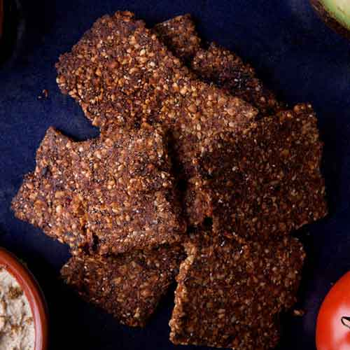 Cricket Powder Protein Crackers