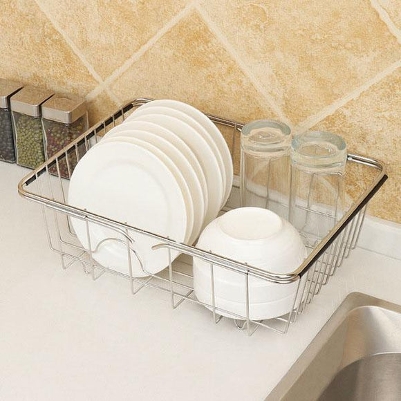 Multifunctional Stainless Steel Sink Rack