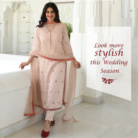 Look more stylish this wedding season