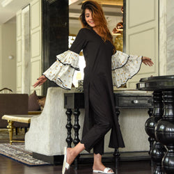Double Bell Sleeves Set