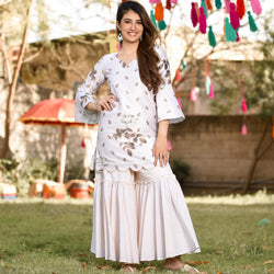 Shine Sharara Set