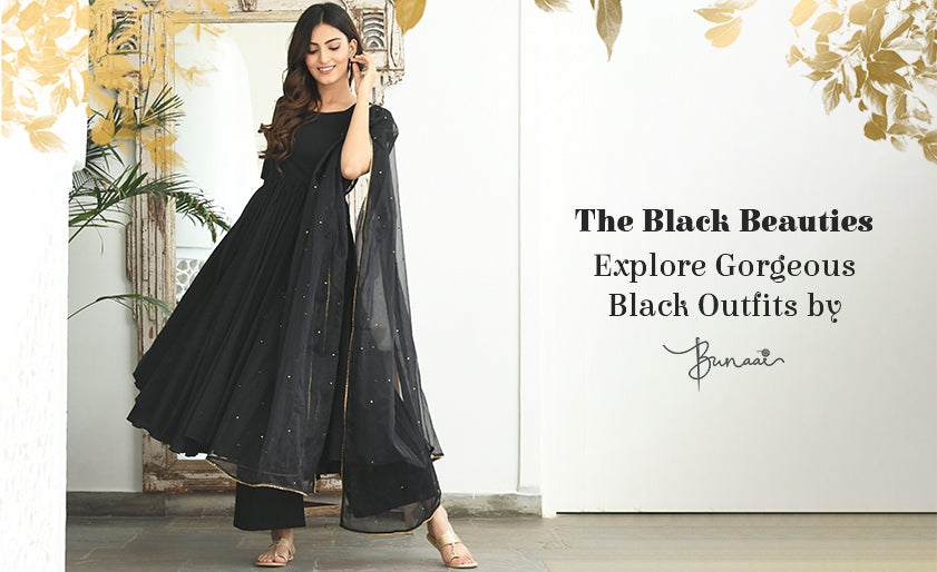 The Black Beauties | Explore Gorgeous Black Outfits by Bunaai