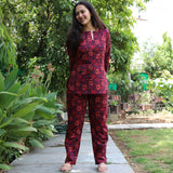 Ochre Floral Cotton Set