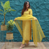 Buttercup Yellow Suit Set