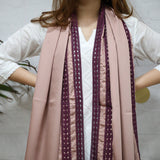 Smoky Satin Scarf