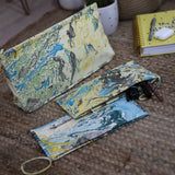 Handmade Printed Pouch with Zip (B)