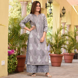 Gentlen Grey Cotton Set