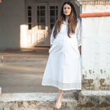 shop white cotton maternity wear online