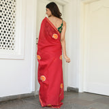 buy beautiful red saree online at best prices