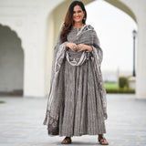 shop grey cotton suit set online at best prices
