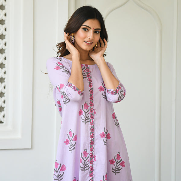 shop purple colored kurta set online at best prices