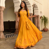 shop mustard rayon dress online at best price