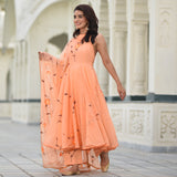 buy amazing quality peach colored suit for women online