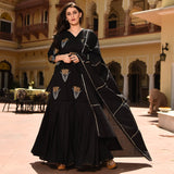 Black Sharara Suit Set