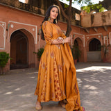 shop amazing quality copper kota doriya suit set online