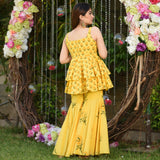 Tulip Yellow Cotton Set
