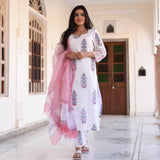 shop pink cotton suit set online at best price