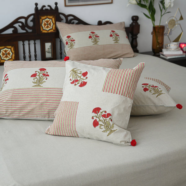 Casper Cotton Printed Bedsheet