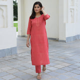 Kurta set for women, buy kurta online,red kurta