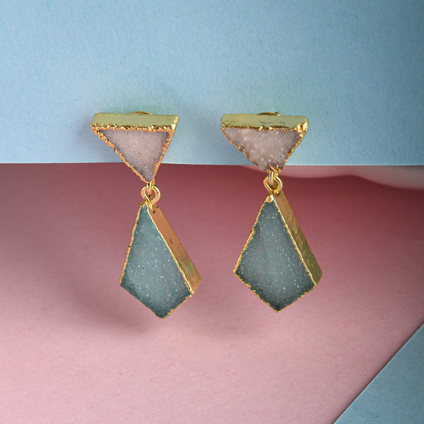Druzy Charms Earrings