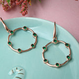 Medusa Medium Hoop Earrings