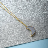Chain With Moon Pendant