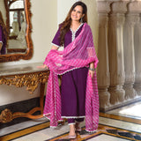 purple color suit for women,buy purple color cotton suit