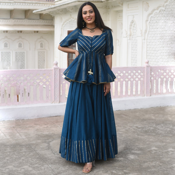 buy kurta with pants,blue kurta with pants