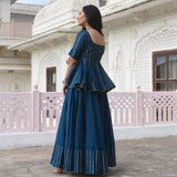 get blue kurta for women at best prices , blue kurta for women