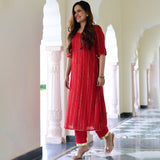 shop red kurta set online at best prices